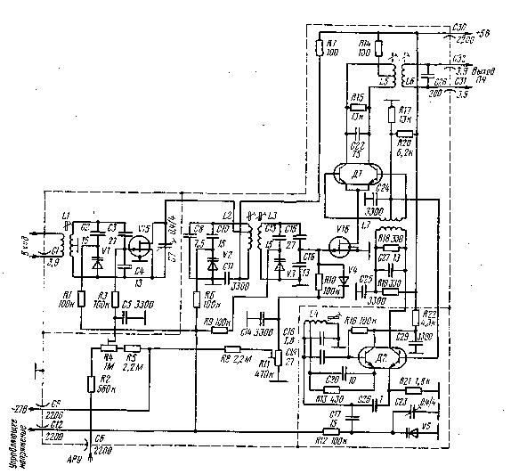 Принципиальная схема радиоприемника стерео Инструкция Для Радиотехника 301
